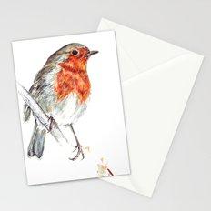 European Robin Stationery Cards