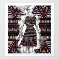 Wildly Exaggerated F. Art Print