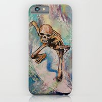 iPhone & iPod Case featuring Surfer by Michael Creese