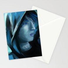 Blue Serenity Stationery Cards