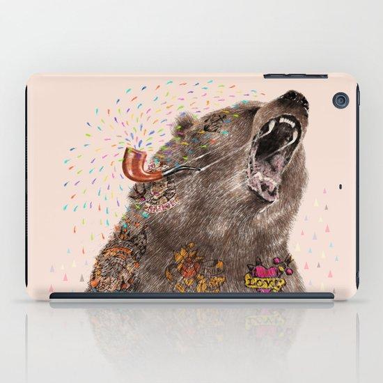 Angry Bear II iPad Case