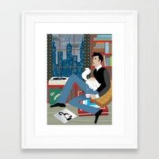 Perfect Rainy Day for Handsome Devil Press Framed Art Print