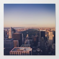 Central Park | New York City Canvas Print