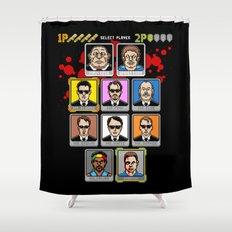 8 Bit Reservoir Shower Curtain
