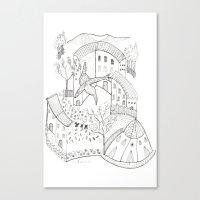 GeometriART 01 Canvas Print