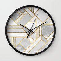 Gold City Wall Clock