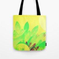 Tropical Sun Drops heat Tote Bag