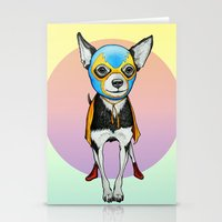Chihuahua - Luchador  Stationery Cards