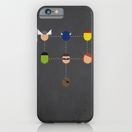 The advengers Capsules iPhone & iPod Case