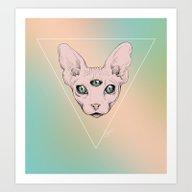 SPHYNX. Art Print