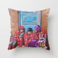 Muslim Children Throw Pillow