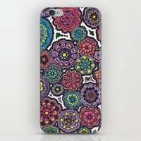 Psychedelic Flowers iPhone & iPod Skin