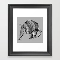 Cingulata Framed Art Print