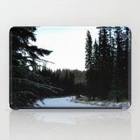 Wintertime in WaterValley iPad Case