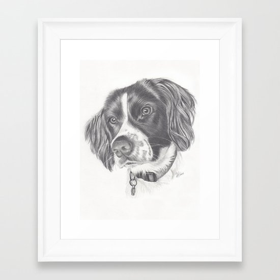 Springer Framed Art Print