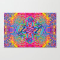 Flower Trip-Sir Parker Canvas Print