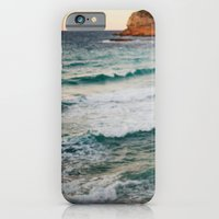 iPhone & iPod Case featuring MEDITERRANEAN WAVES by Megan Robinson