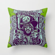 kill the sheriff Throw Pillow