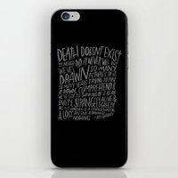 RAY BRADBURY AGAIN iPhone & iPod Skin