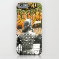 iPhone & iPod Case featuring I Don't Know About You, But I Feel Like We're Always Being Watched by Michael Harford