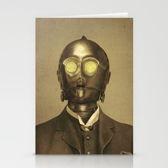 Baron Von Three PO  Stationery Card