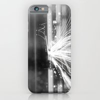 iPhone & iPod Case featuring The Night Vibes Electric by Phil Provencio