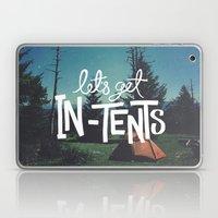 Let's Get In-Tents Laptop & iPad Skin