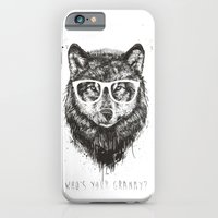 Who's your granny? (b&w) iPhone 6 Slim Case