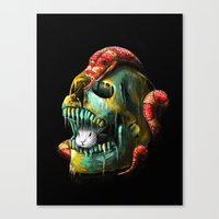 Fear And Desire Canvas Print