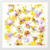Flowering #3 Art Print