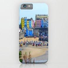 Tenby Harbour.Colour.Reflection. iPhone 6s Slim Case