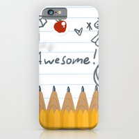 iPhone Cases featuring Doodles by Blue