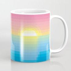 Sunset ~ strips Mug