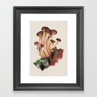 Mushy Framed Art Print
