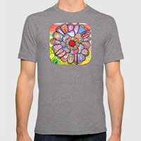 Florem Terrae Bright Mens Fitted Tee Tri-Grey SMALL