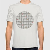 MCM RoseSilver Mens Fitted Tee Silver SMALL