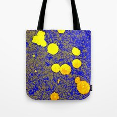 Gold and Blue Harmony Tote Bag