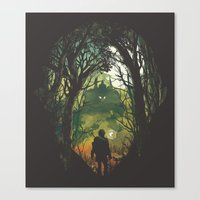 It's Dangerous to go Alone V.2 Canvas Print
