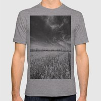The Farm Of Dreams Mens Fitted Tee Athletic Grey SMALL