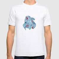 Jubilee Diamond Mens Fitted Tee Ash Grey SMALL
