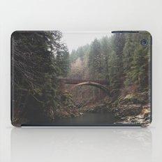 Bridge at Moulton Falls, WA iPad Case