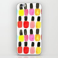 Nail Polish iPhone & iPod Skin