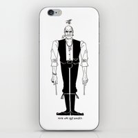 Mick Was NOT Amused (#1)… iPhone & iPod Skin