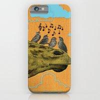 Giraffe & Singing Birds … iPhone 6 Slim Case