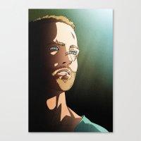 187 (Jesse Pinkman - Breaking Bad) Canvas Print