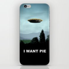 I Want Pie iPhone & iPod Skin