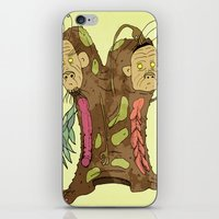 Androgyny iPhone & iPod Skin