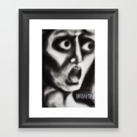 Chuck P Framed Art Print