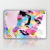 Abstract portrait Laptop & iPad Skin