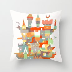 Structura 8 Throw Pillow